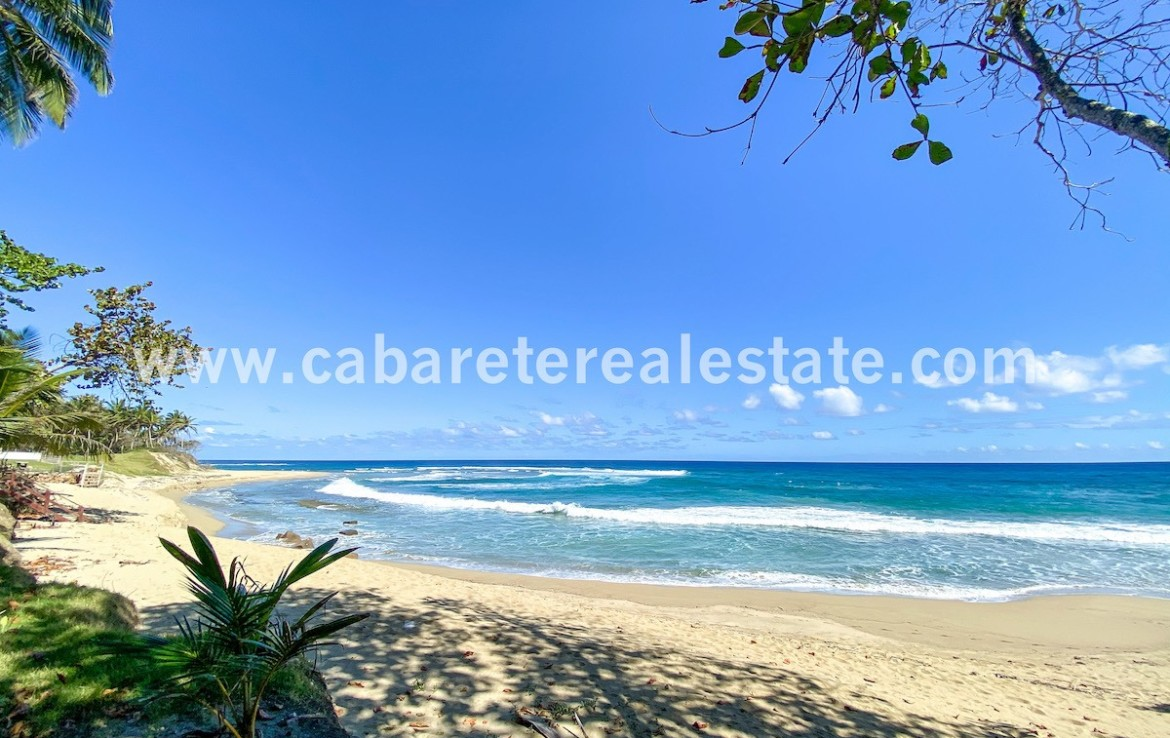 Beachfront land Cabarete Real Estate Dominican Republic