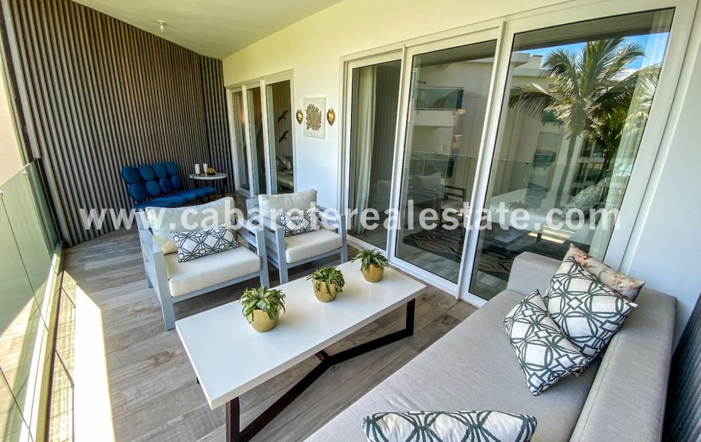 Beachhome Cabarete Real Estate Ocean view terrace Dominican Republic