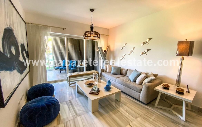 Living Area Cabarete 2 Bedroom Condo Caribbean