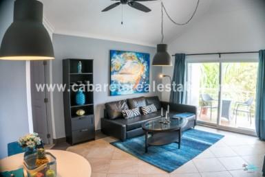 Modern livingroom Cabarete Penthouse luxury