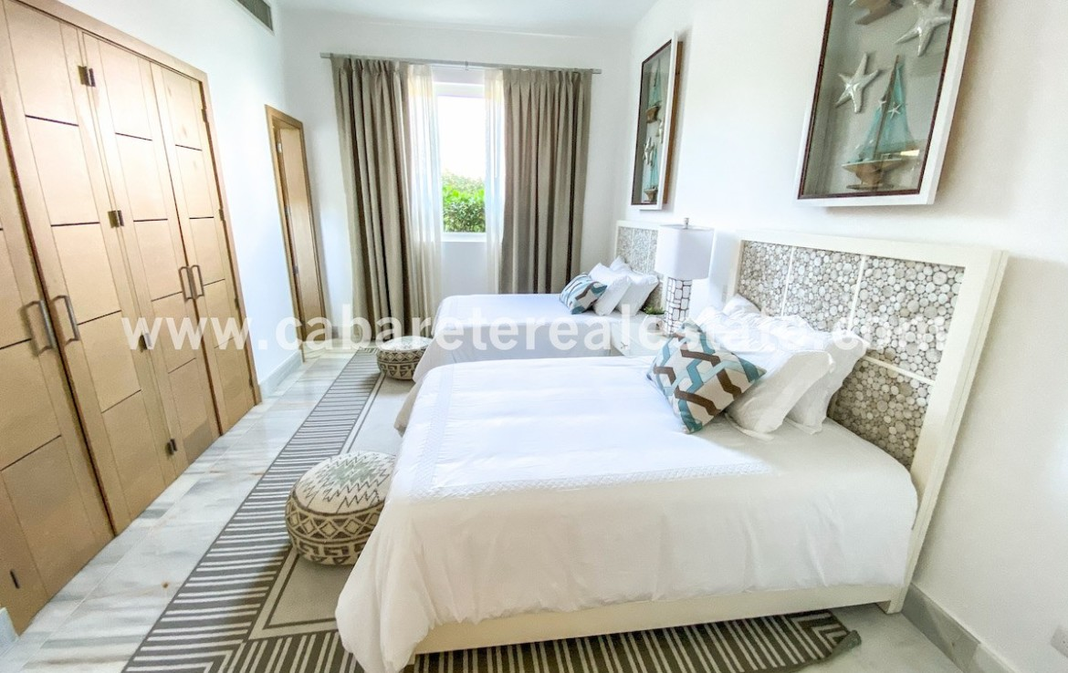 Seond bedroom Seawinds Oceanfront apartment Cabarete