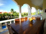 beautiful balcony view caribbean house cabarete