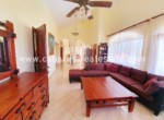 confortable couch in amazing beachhouse in cabarete