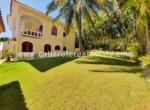 huge garden caribbean style house