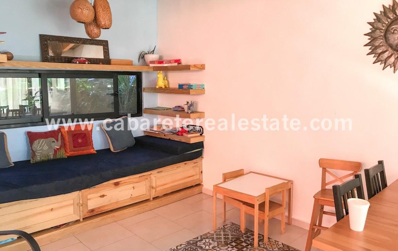 BB Cabarete Dominican Republic Living area