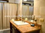 Bathroom ground floor one bedroom condo Dominican Republic