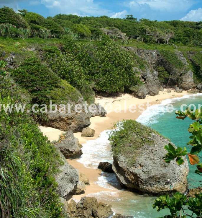 Beach front land Cabrera Dominican Republic Cabarete Real Estate