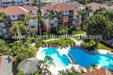 Beachfront Cabarete Penthouse poolside