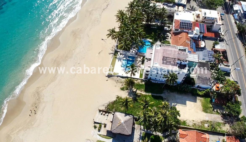 Beachfront lot Kitebeach Cabarete1