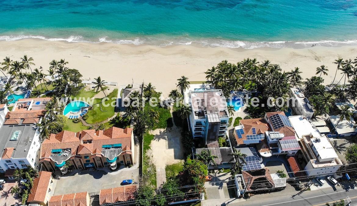 Beachfront lot Kitebeach Cabarete12