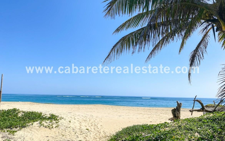Beachfront lot Kitebeach Cabarete6