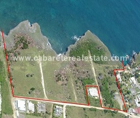Cabrera Dominican Republic Ocean front land