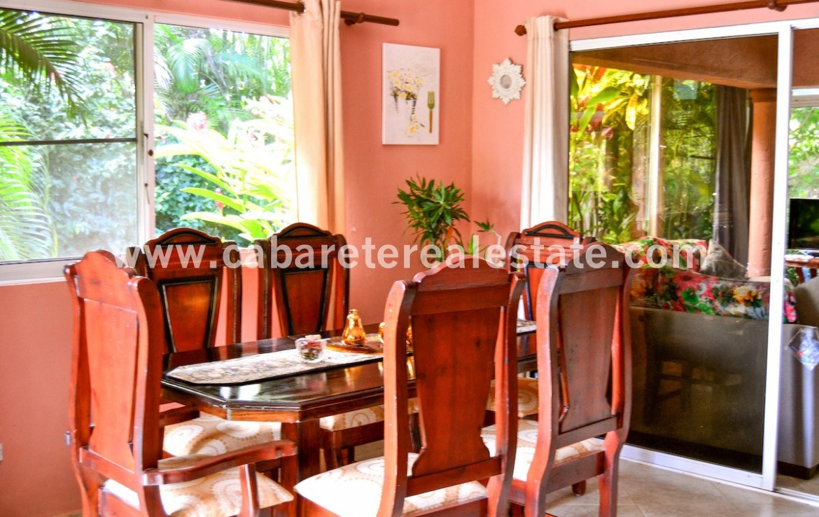 Dining area Sosua affordable home Dominican Republic
