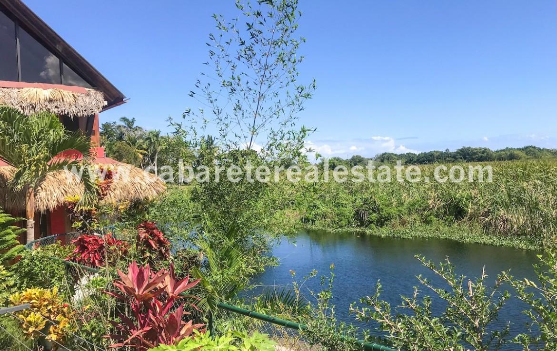 Lagoon view natural preserve BB Cabarete Dominican Republic
