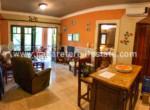 Living area and kitchen Beachfront condo Perla Marina Cabarete Dominican Republic