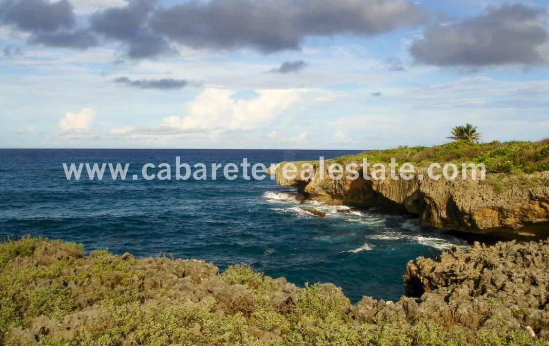 Ocean Front lot Dominican Republic Cabrera