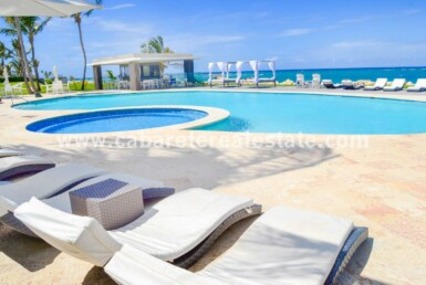 Ocean view and beach front gated community Dominican Republic Beachfront pool area unbeatable beachfront 2 bedroom charmer