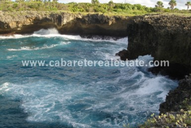 Oceanfront piece of land Dominican Republic has it all Cabarete Real Estate