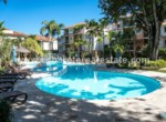 beautiful pool area penthouce cabarete beachfront 1