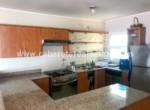 fully equipmed kitchen beachfront apartment