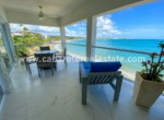 goergeous ocean view from teracce over cabarete bay