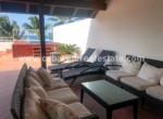 huge terrace beachfront penthouse cabarete