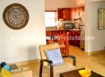 kitchen and dining area beautiful apartment in cabarete