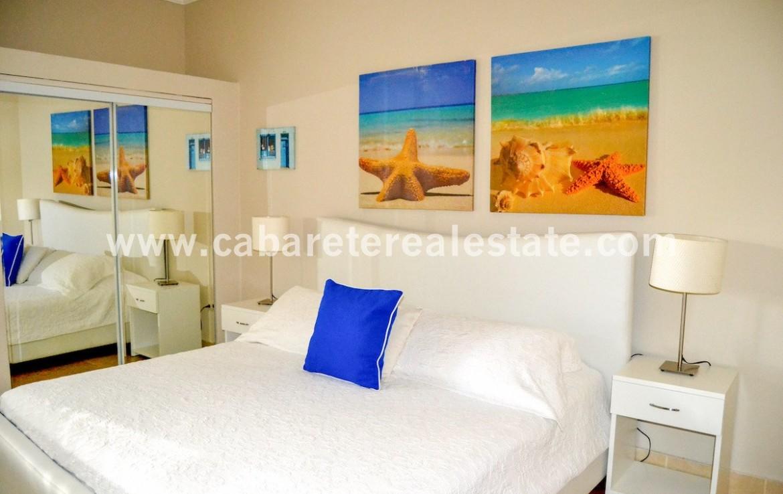 master bedroom luxury apartment beachfront cabarete