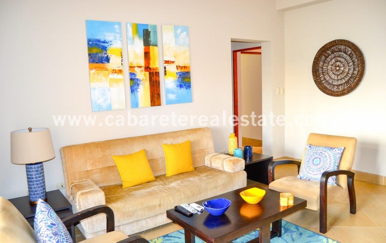 spaceus livingroom beachfront apartment cabarete