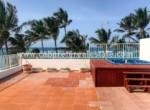terrace with jacuzzi beachfront kitebeach cabarete