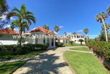 3 building beachfront villa in cabarete