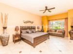 Master bedroom Cabarete seaside apartment Dominican Republic