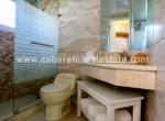 modern bathroom in studio in middle of cabarete
