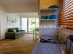 spacious studio with great couch and enough space to enjoy the paradise cabarete