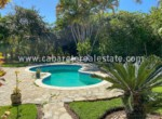 stunning garden with great pool in this beautiful beachfront villa between cabarete and sosua