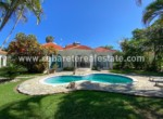 stunning pool in this beachfront villa between cabarete and sosua in a gated comunity