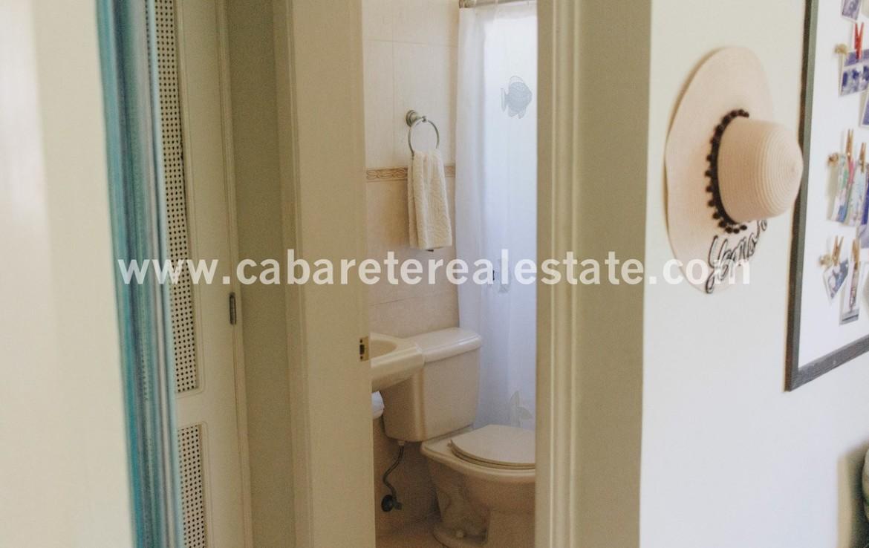 Bathroom beachside home Cabarete Real Estate