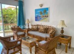 Gorgeous living area in two bedroom condo by the beach in Cabarete Dominican Republic