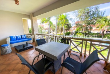 Gorgeous terrace in beachside 3 bedrooms condo Cabarete Beach