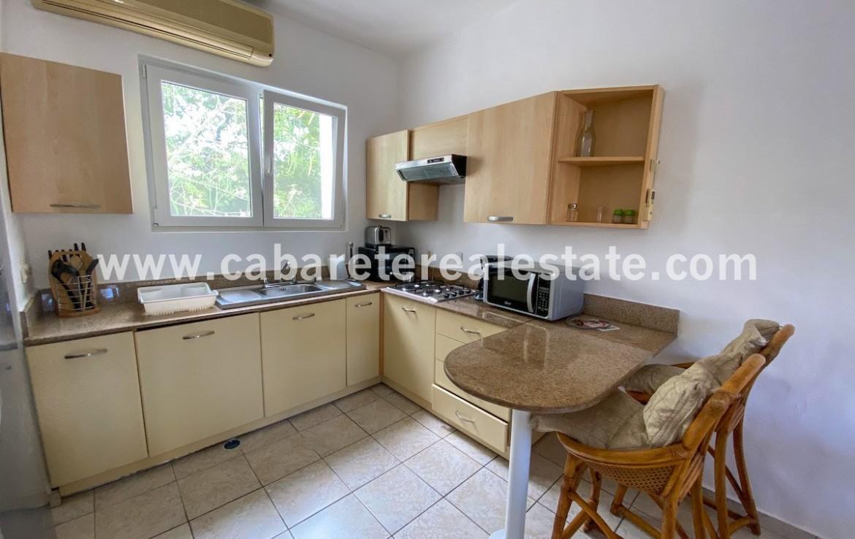 Kitchen two bedroom beachside condo Cabarete