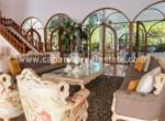 Living room in villa by the beach Cabarete Dominican Republic