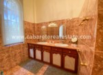 Luxurious and spacious bathroom in villa steps from the ocean Cabarete Dominican Republic