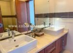 Luxurious bathroom in beachfront home Cabarete Real Estate Dominican Republic