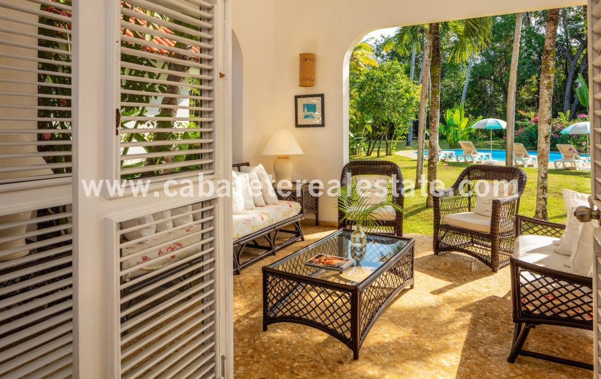 Luxury beachfront villa in gated the nices gated comunity in the northcoast of the dominican republic