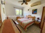 Master bedroom in two bedroom condo by the beach in Cabarete