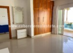 Master bedroom with gorgeous beach and ocean views Cabarete Real Estate Dominican Republic