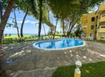 Pool and beach views 2 bedrooms apartment Cabarete