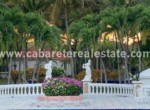Poolside view luxurious villa in gated community Cabarete Dominican Republic