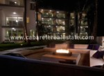 Relax around the fire in your beachfront home Cabarete Real Estate 1