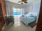 Spectacular master bedroom with ocean views in beachfront condo Cabarete Real Estate Dominican Republic